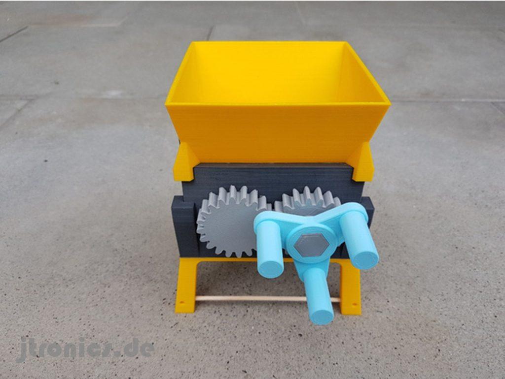3d Druck Modellbau Und Cad Vorlagen 3d Druck Shredder Jtronics
